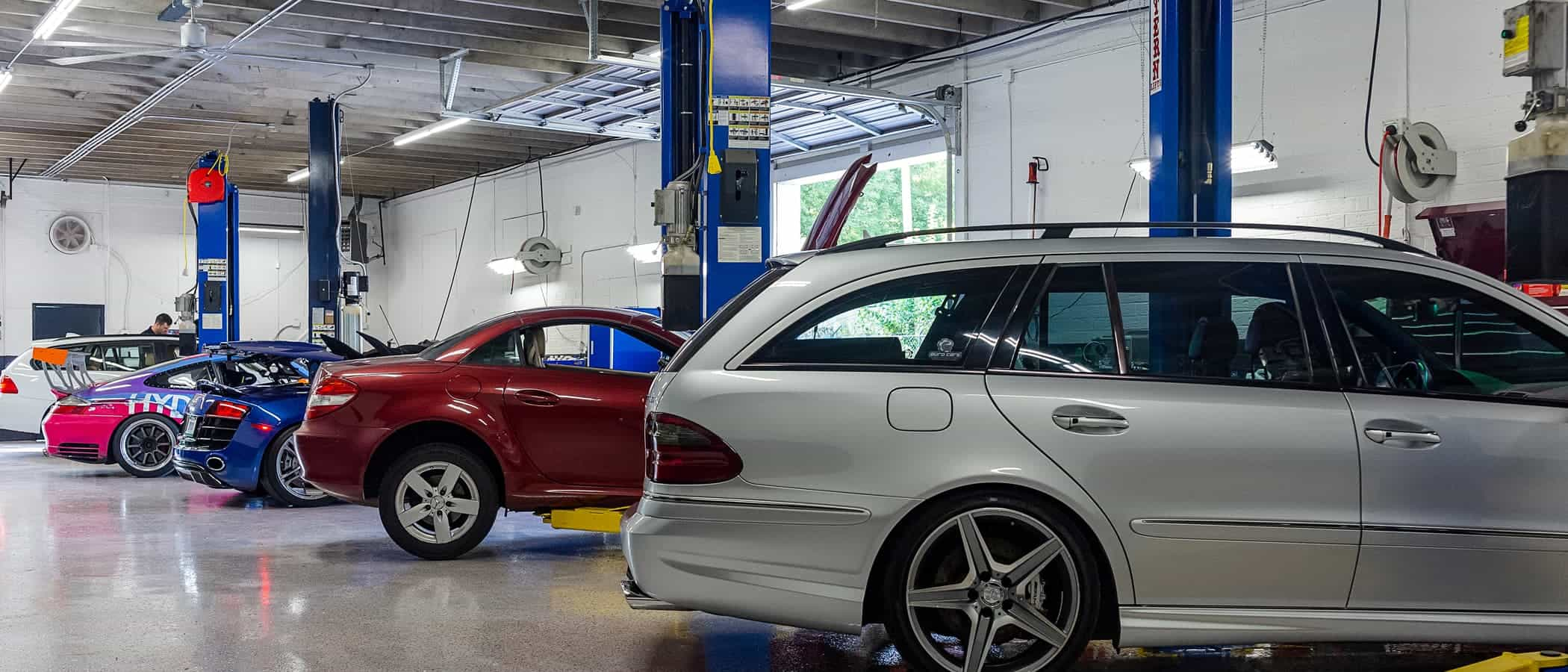 Charlotte Southend European Porsche Auto Repair Services